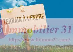 A vendre Terrain Lamasquere | Réf 3106786581 - Fb immobilier 31