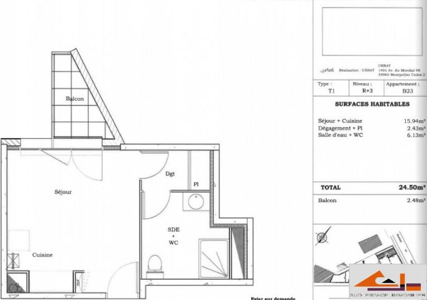 A vendre Toulouse 310791627 Sud espace immobilier