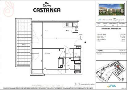 A louer Castanet-tolosan 310801245 Bonnefoy immobilier