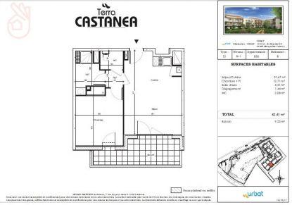 A louer Castanet-tolosan 310801247 Bonnefoy immobilier