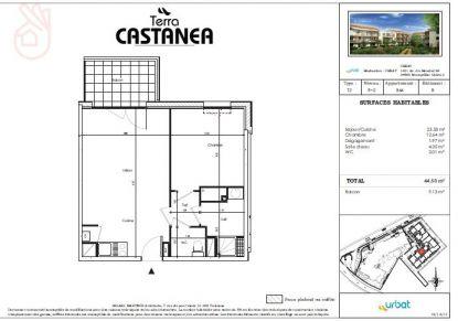 A louer Castanet-tolosan 310801250 Bonnefoy immobilier