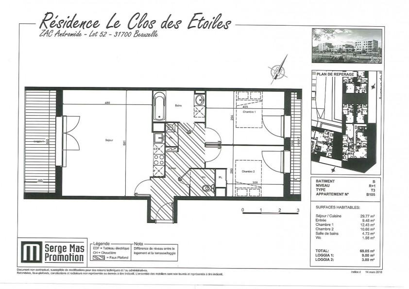 A louer  Beauzelle | Réf 31112273 - Inexia