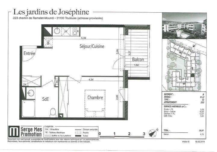 A louer Toulouse 31112307 Inexia