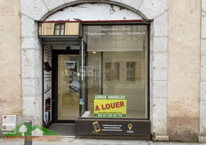 A louer Local commercial Saint Gaudens   R�f 31158766 - Aareva immobilier