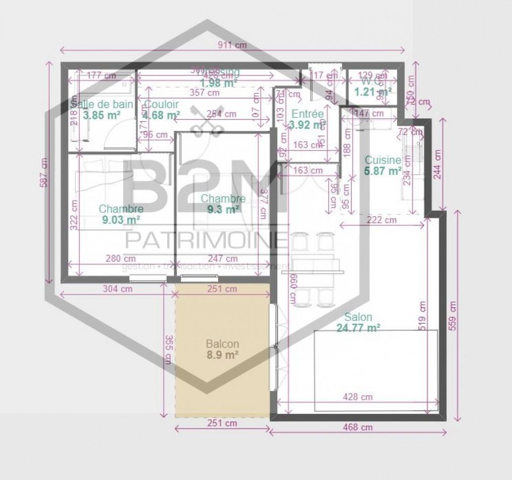 A vendre Toulouse 31163383 B2m patrimoine
