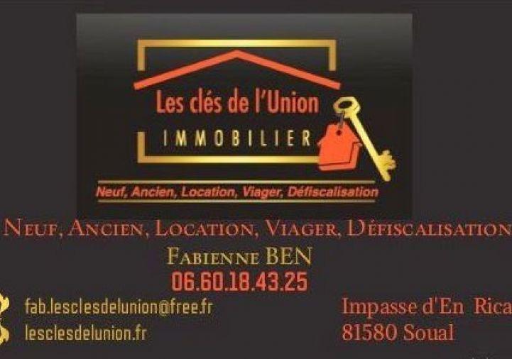 A vendre Castelnaudary 31185153 Les cles de l'union