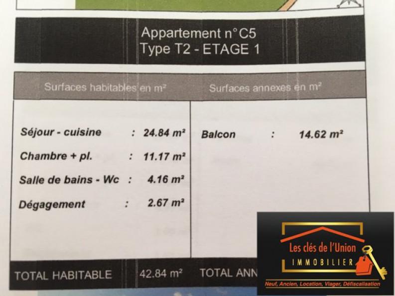 A vendre  Toulouse | Réf 3118553 - Les cles de l'union
