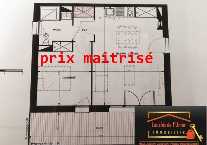 A vendre Appartement en frais réduits Toulouse | Réf 3118553 - Les cles de l'union
