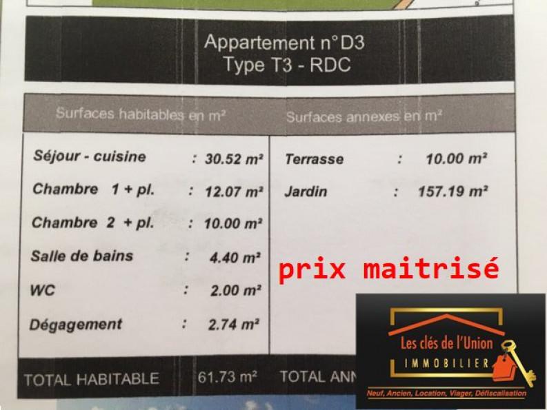 A vendre  Toulouse | Réf 3118594 - Les cles de l'union