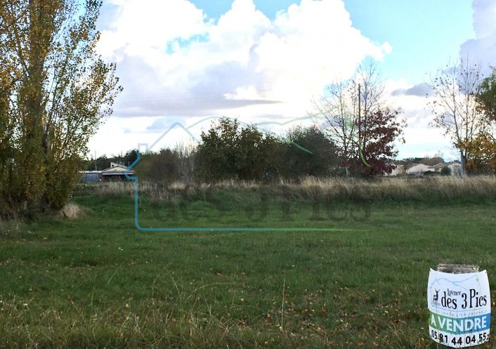 A vendre Terrain constructible Lherm | R�f 31238115 - Agence des 3 pics