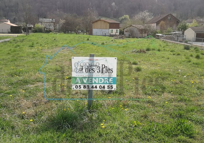 A vendre Terrain constructible Seix | R�f 31238131 - Agence des 3 pics