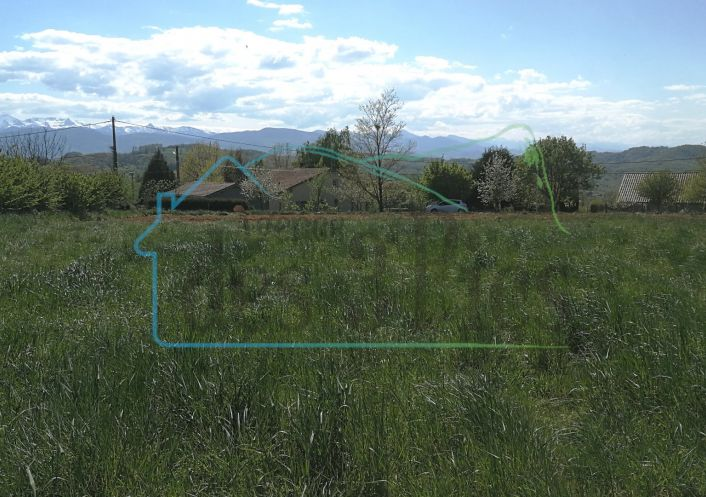 A vendre Terrain constructible Lasserre | R�f 31238246 - Agence des 3 pics