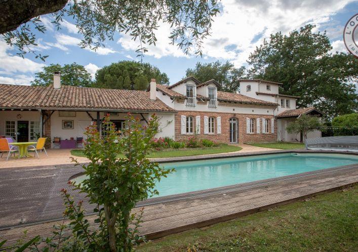 A vendre Maison de caractère L'isle-jourdain | Réf 320071780 - L'occitane immobilier