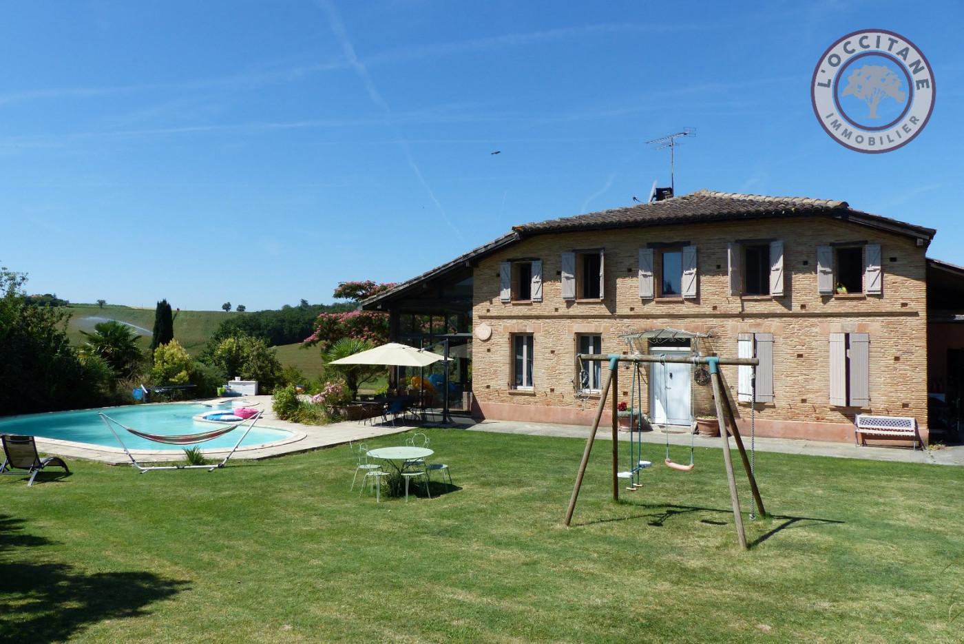Maison de caractre en vente encausse l for Maison occitane