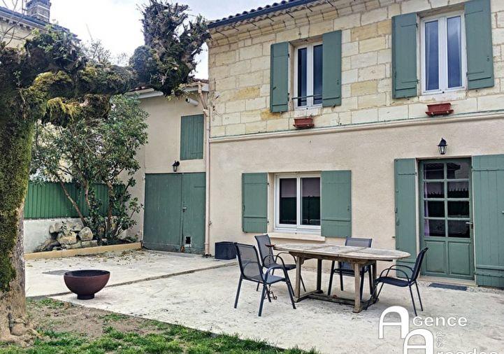 A vendre Maison Saint Sulpice Et Cameyrac | R�f 330361081 - Agence des arcades libourne
