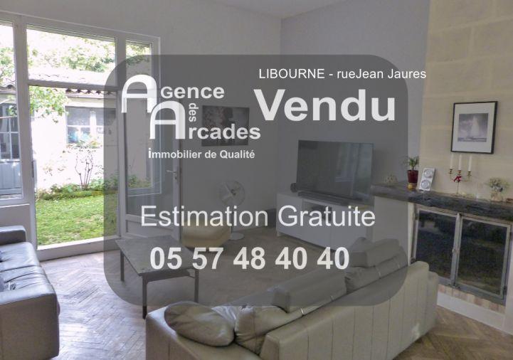 A vendre Libourne 33036464 Agence des arcades libourne