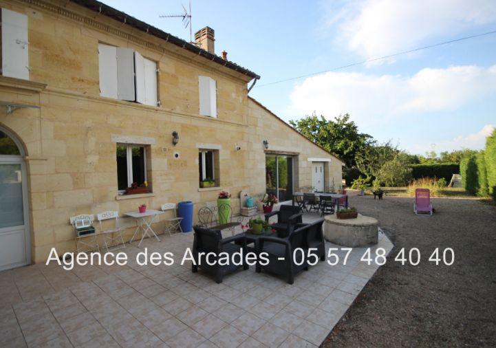 A vendre Arveyres 33036480 Agence des arcades libourne