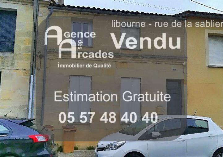 A vendre Libourne 33036514 Agence des arcades libourne