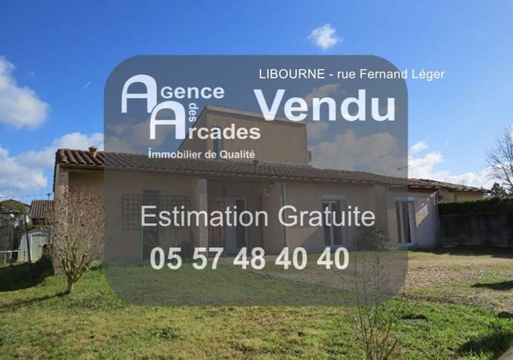 A vendre Libourne 33036552 Agence des arcades libourne