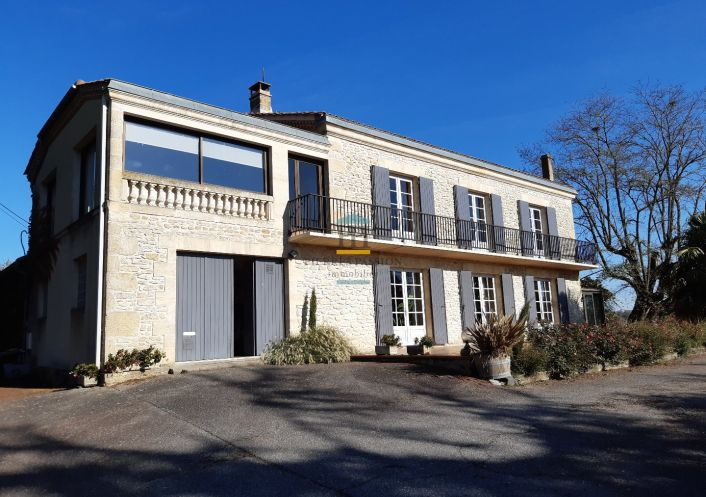 A vendre Maison en pierre Saint Martin De Sescas | Réf 330401745 - Pierres passion immobilier