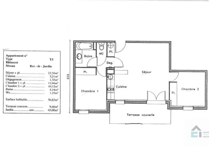 A vendre Pessac 33053125 Aquitaine consulting immobilier