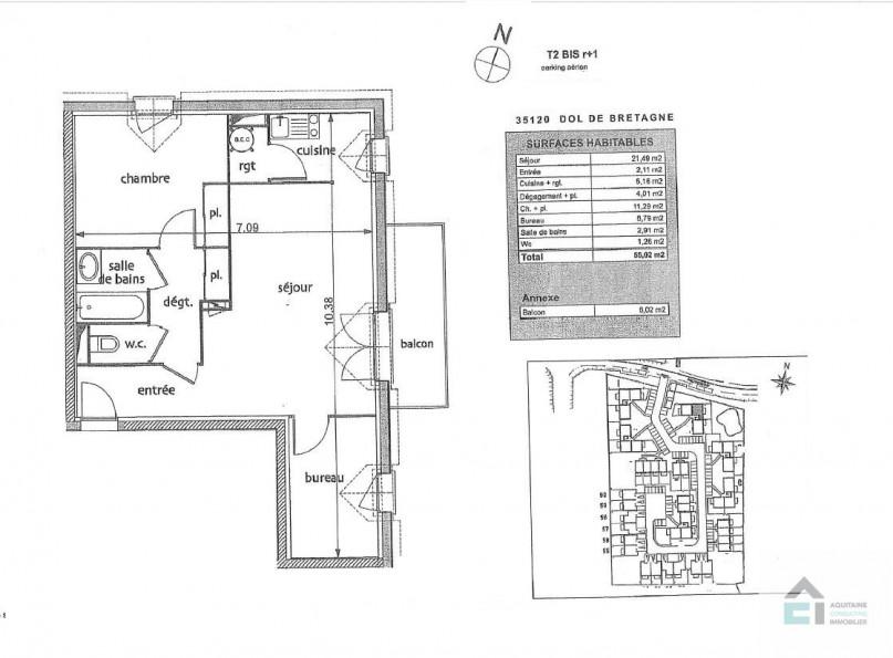 A vendre Dol De Bretagne 33053172 Aquitaine consulting immobilier