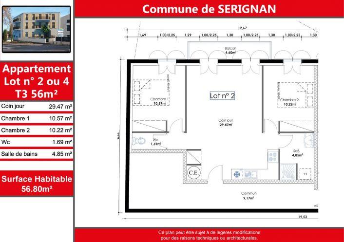 A vendre Appartement en résidence Serignan | Réf 340125926 - Comptoir de l'immobilier