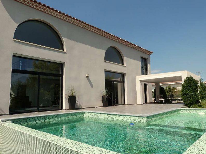 Offres immobilieres 340133201 languedoc roussillon hrault for Achat maison contemporaine