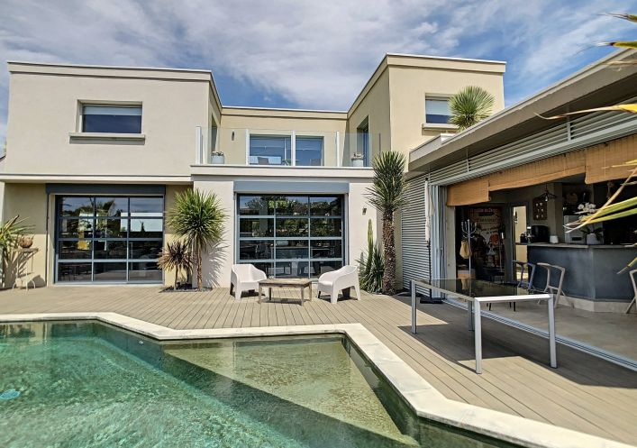 A vendre Maison contemporaine Pezenas | Réf 340138729 - Agence galerie casanova