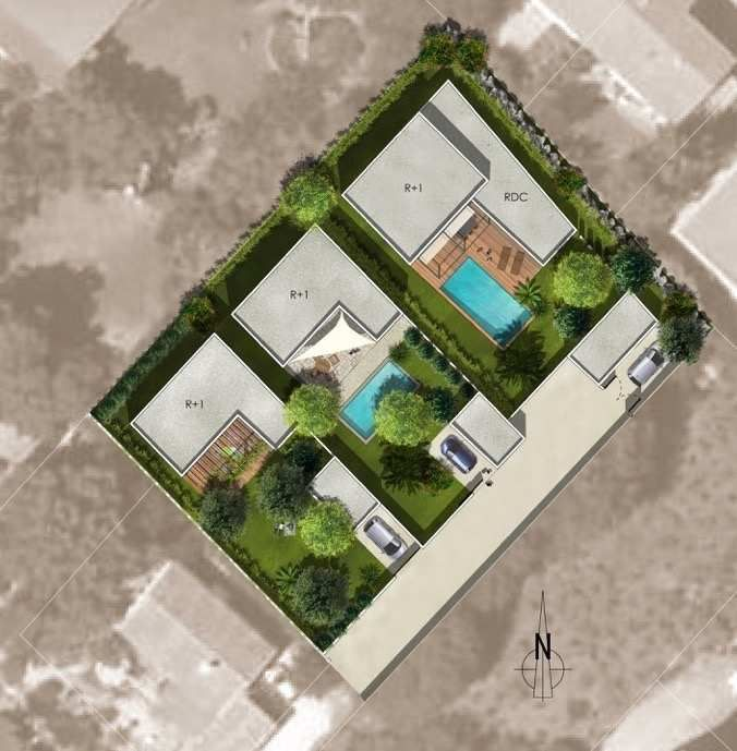 Terrain en vente montpellier r f340134581 agence for Terrain montpellier