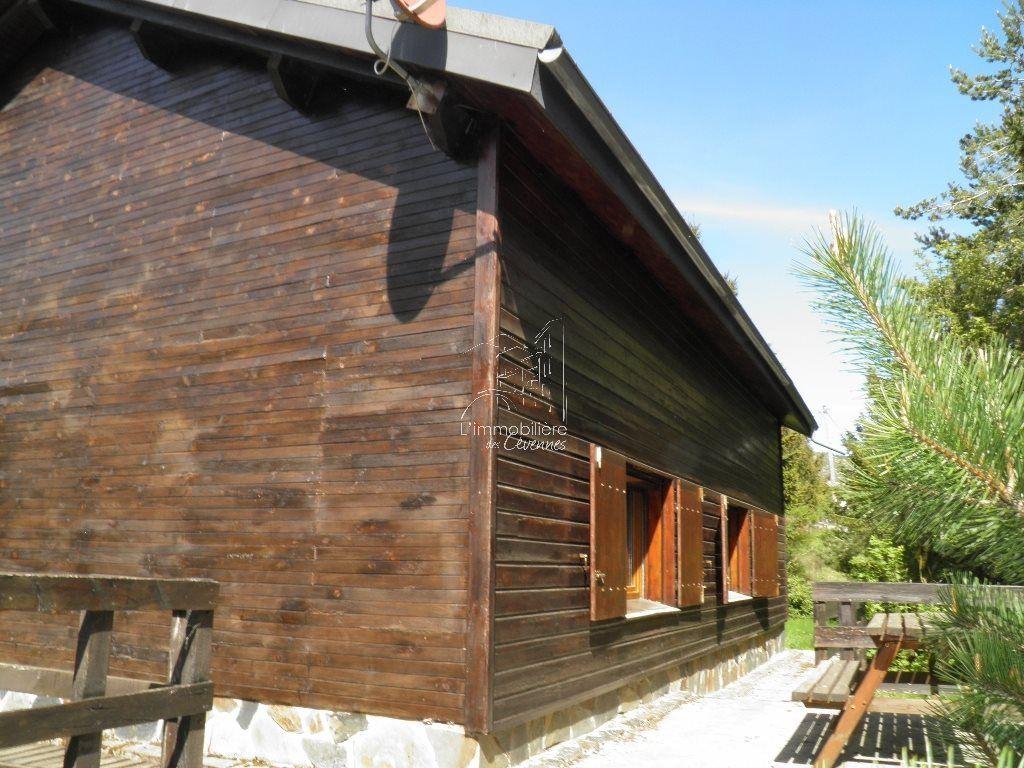 Vente bungalow bois for Achat chalet bois