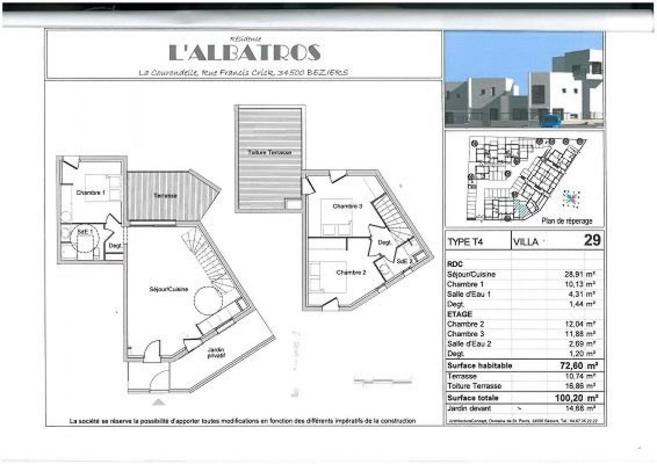 A vendre  Beziers | Réf 340553598 - La toile immobilière
