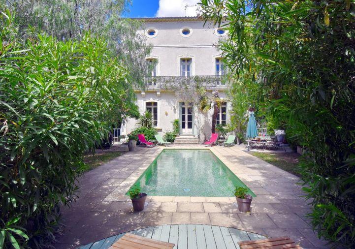 For sale Maison de maître Servian   Réf 340572737 - Les clés du soleil