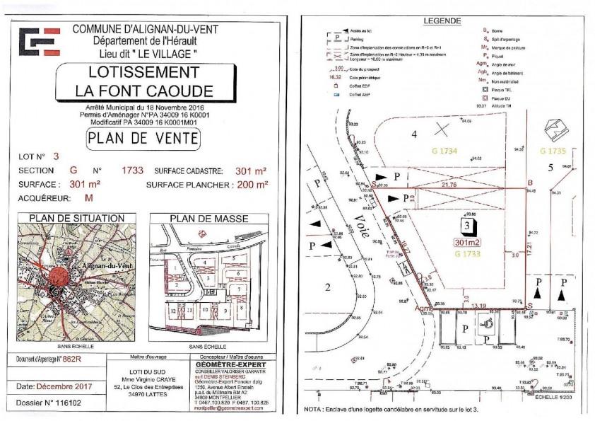 A vendre Alignan Du Vent 340615142 Agence calvet