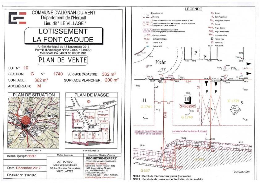 A vendre Alignan Du Vent 340615144 Version immobilier