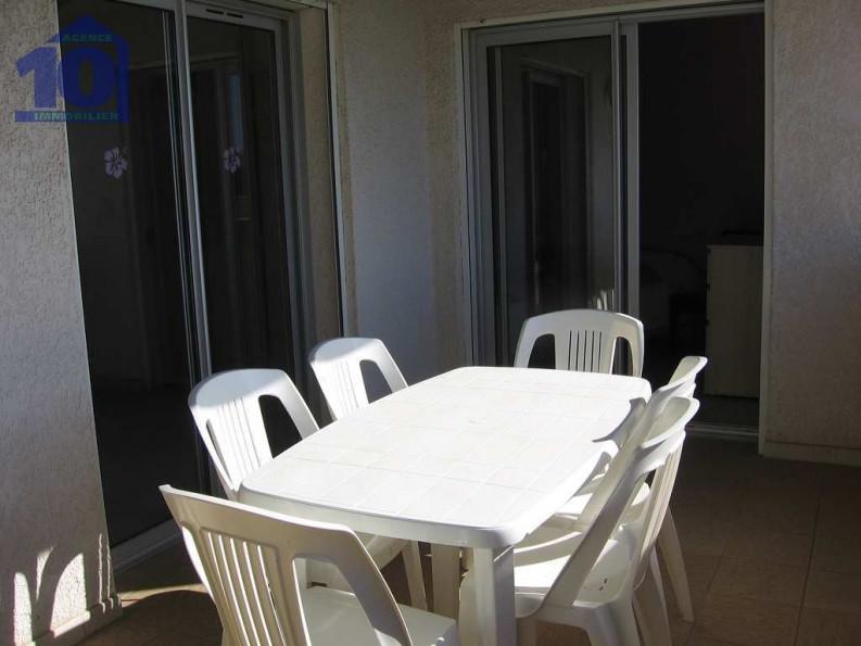 en location saisonnière  Valras Plage   Réf 340651228 - Agence dix immobilier