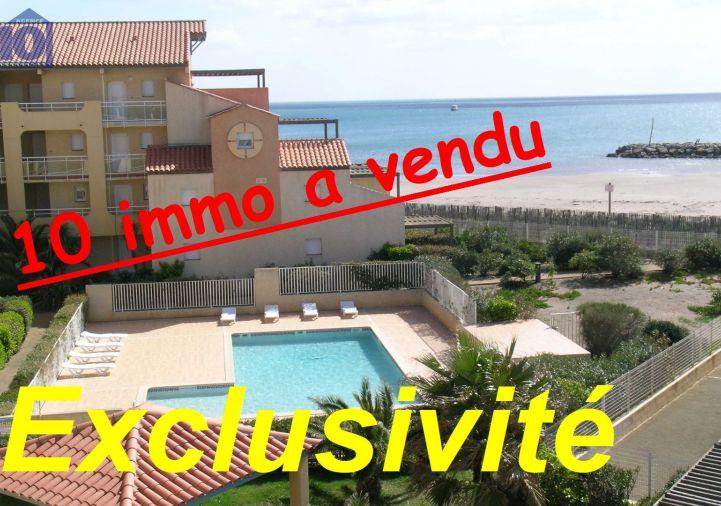 A vendre Appartement en marina Valras Plage | Réf 340652379 - Agence dix immobilier