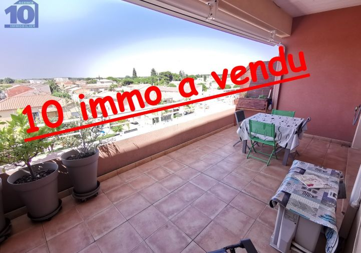 A vendre Appartement terrasse Valras Plage | Réf 340652479 - Agence dix immobilier