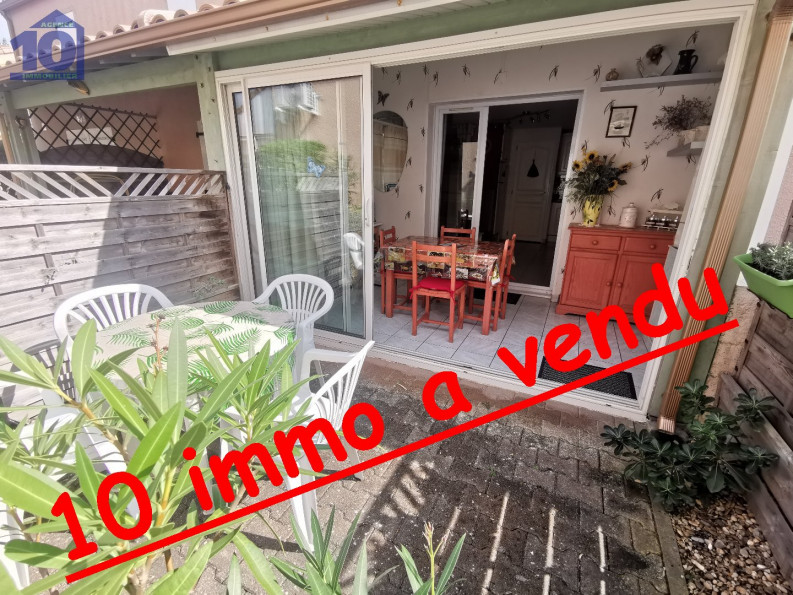 A vendre  Valras Plage   Réf 340652507 - Agence dix immobilier