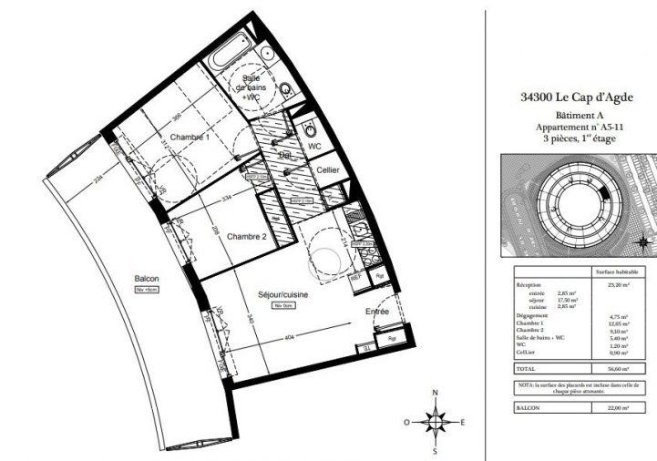 A vendre Appartement Le Cap D'agde | R�f 340691865 - Aviso immobilier