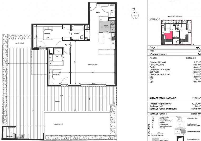 A vendre  Castelnau Le Lez | Réf 340693048 - Aviso immobilier