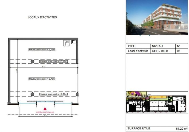 A vendre Local commercial Montpellier | R�f 340693393 - Aviso immobilier