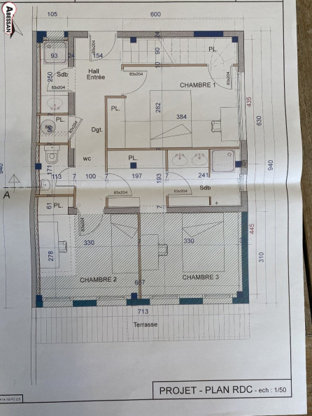 A vendre Frontignan 34070116307 Abessan immobilier