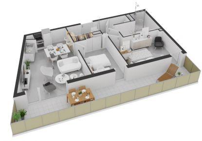 A vendre Appartement Balaruc Les Bains | Réf 34070116444 - Abessan immobilier