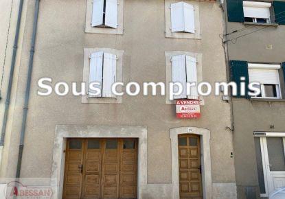 A vendre Maison de ville Mazamet   Réf 34070120445 - Abessan immobilier