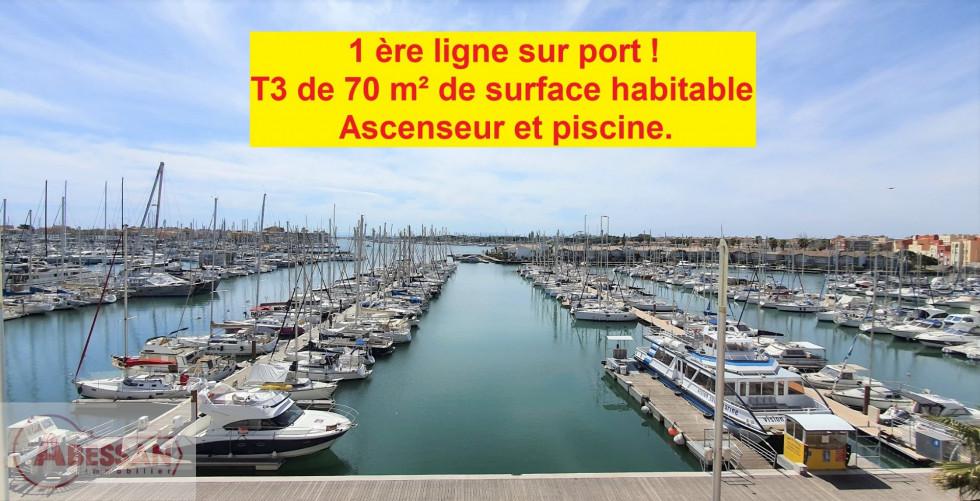 A vendre  Le Cap D'agde | Réf 34070120692 - Abessan immobilier