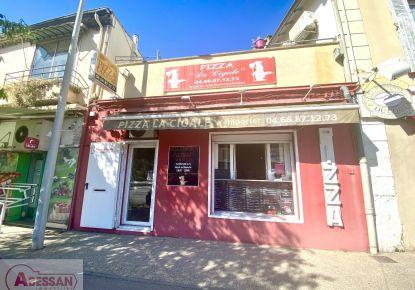 A vendre Pizzeria Nimes   Réf 34070121199 - Abessan immobilier