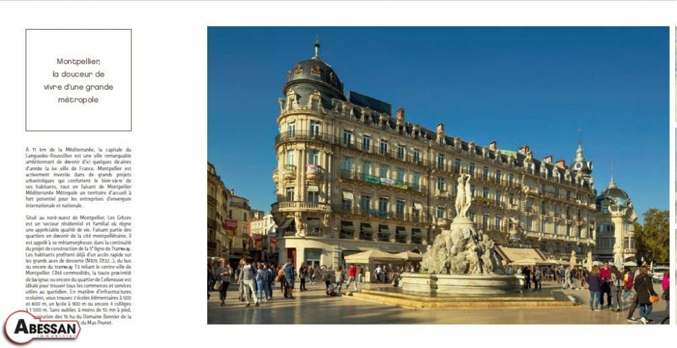A vendre Montpellier 3407071972 Abessan immobilier