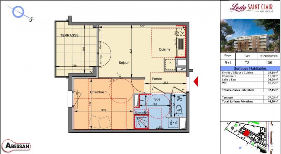 A vendre Sete 3407074414 Abessan immobilier