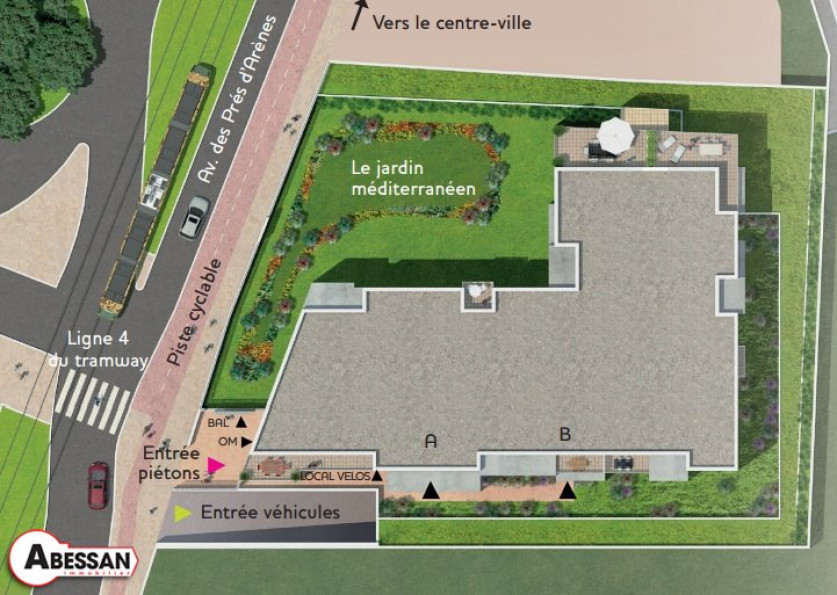 A vendre Montpellier 3407074521 Abessan immobilier